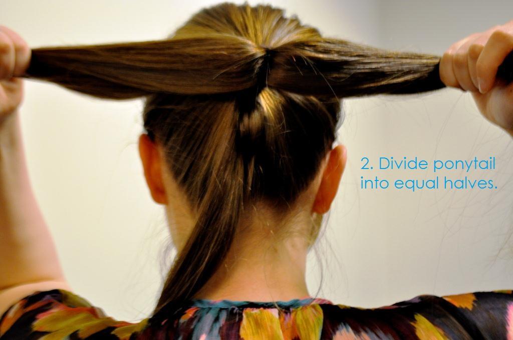 Ducklings In A Row Hair Diy Tutorials Hair Diy Bow Bun Tutorial