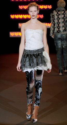 Custo Barcelona Semana de la moda New York Otoño Invierno 2011 2012