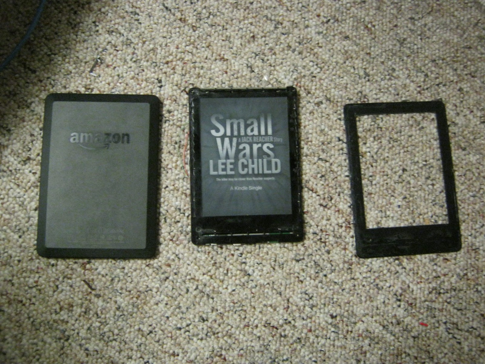 how to tell if a kindle is roote