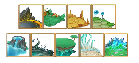 Habitats De Monster Legends