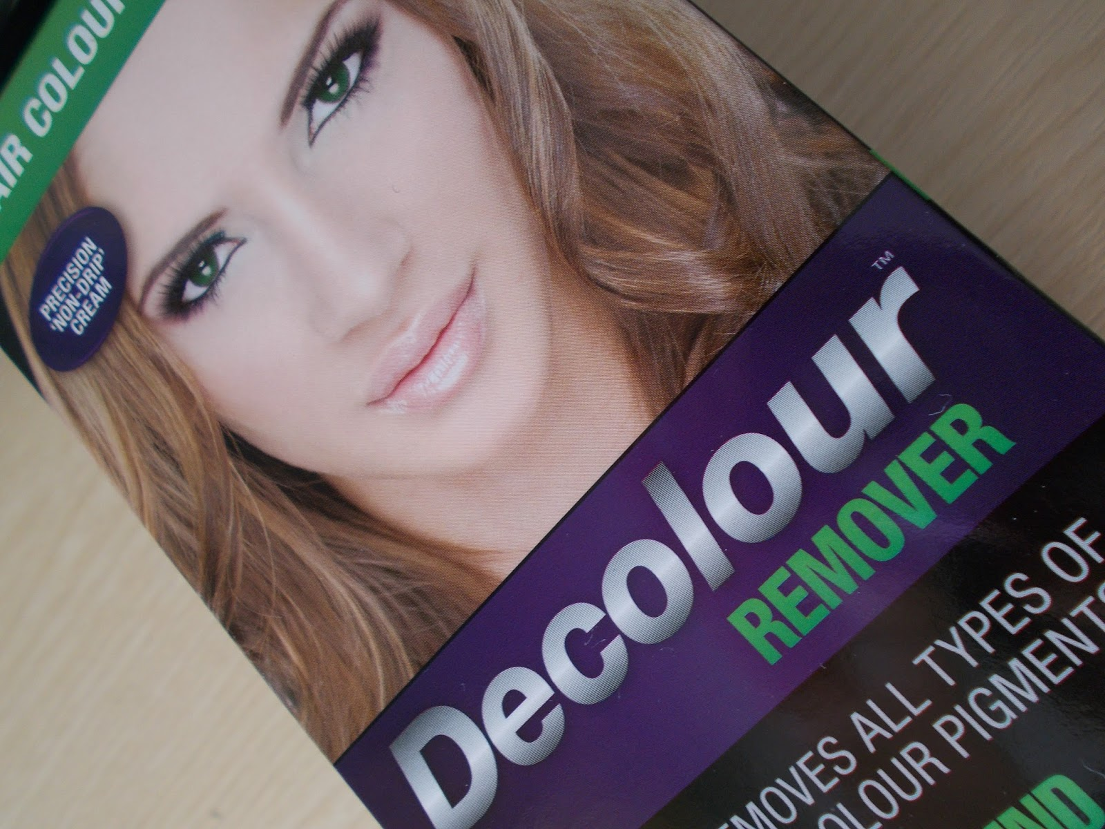 Decolour remover stripping colour no bleach remove dye