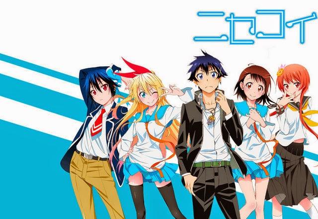 Salah Satu Anime Harem Terbaik Yang Membuat Saya Iri Nisekoi Merupakan Romance Comedy School Pernah Tonton Selama Ini