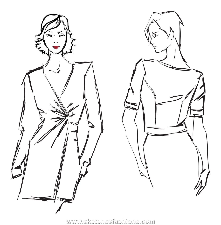 Line Art Fashion : Designer suits
