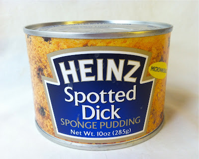 A Heinz brand can of Spotted Dick