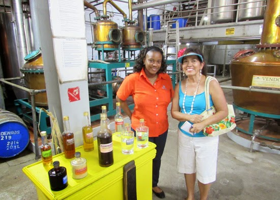 Rum process by-products