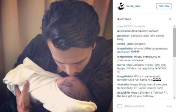 Faizal Tahir Dapat Anak Ke 6