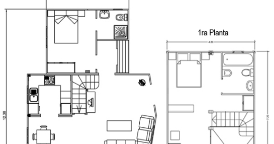 Casas de madera en espa a plano casa dos plantas - Planos de casas en espana ...