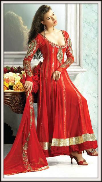 Abaya rouge