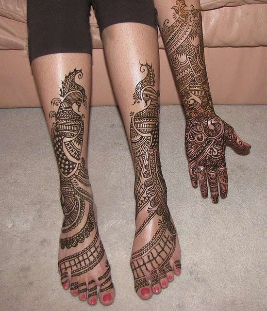 Mehndi Design For Hands Simple Henna Designs For Legs