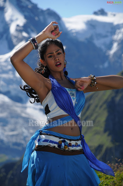 Actress Karthika Armpit Show Photos