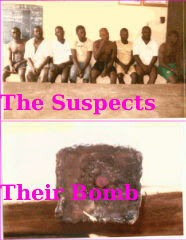 Photo Of The 8 Nigerian Christians Suspected Of Trying To Blow Up A Rival Faction Of Their Own Church