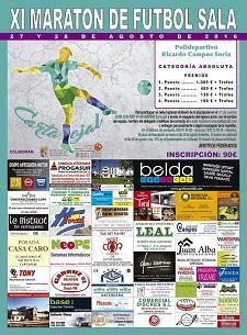 Maratón Fútbol Sala 2016