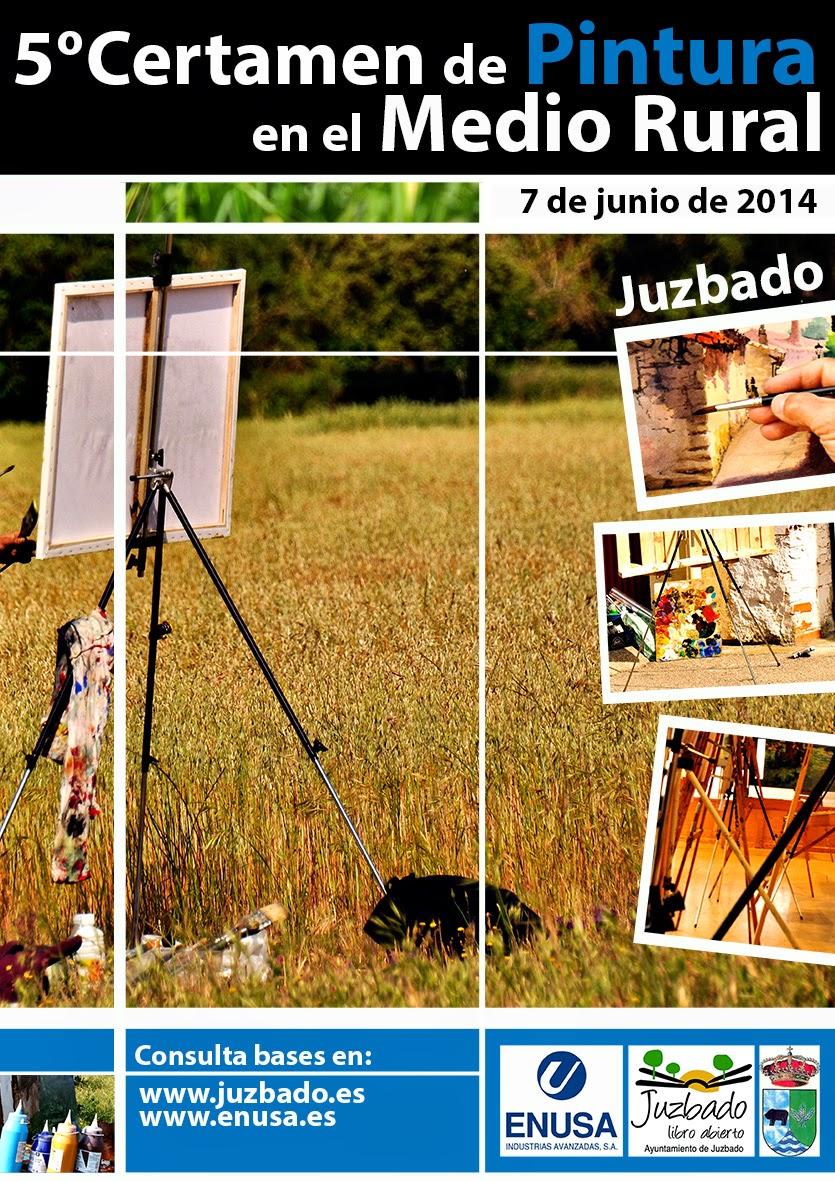 Juzbado, V certamen de pintura en el medio rural