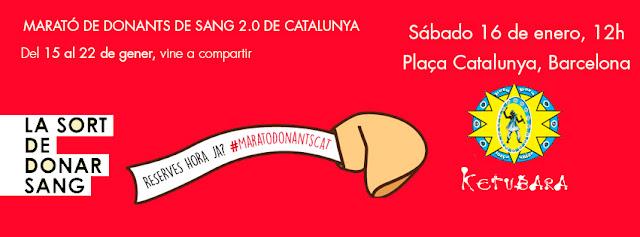 Ketubara Batucada Barcelona Marató Donants de Sang