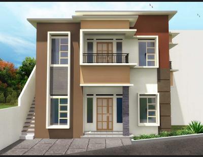 rumah minimalis mewah 2 lantai yang elegan