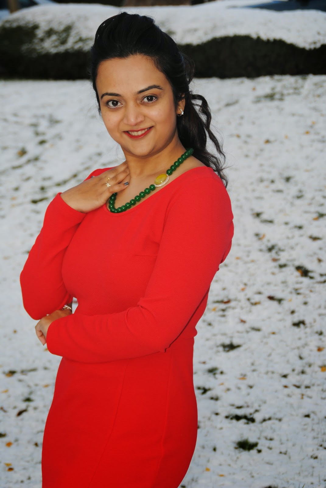Seattle winter Fashion, christmas OOTD, Seattle Fashion Blogger, Ananya in Red dress,  Indian Fashion Blogger