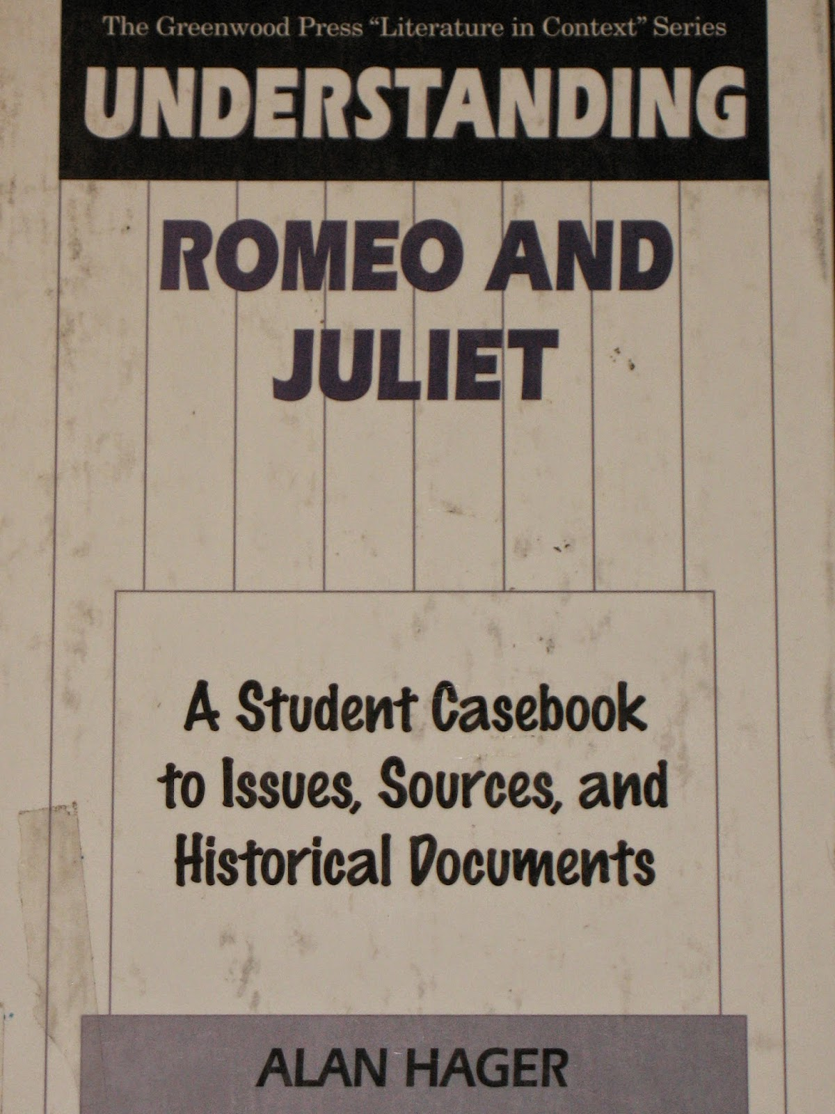 Romeo and juliet historical context essay