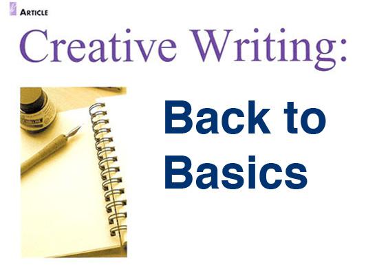the creative writing a speech
