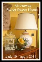 IL  PRIMO GIVEAWAY DI SWEET SWEET HOME