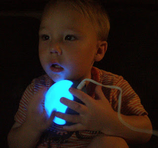 Michael and SleepBuddy NightLight Glow