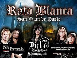 """RATA BLANCA EN EL """"COLISEO CHAMPAGNAT"""" (COLOMBIA) - 17/12/2014"""