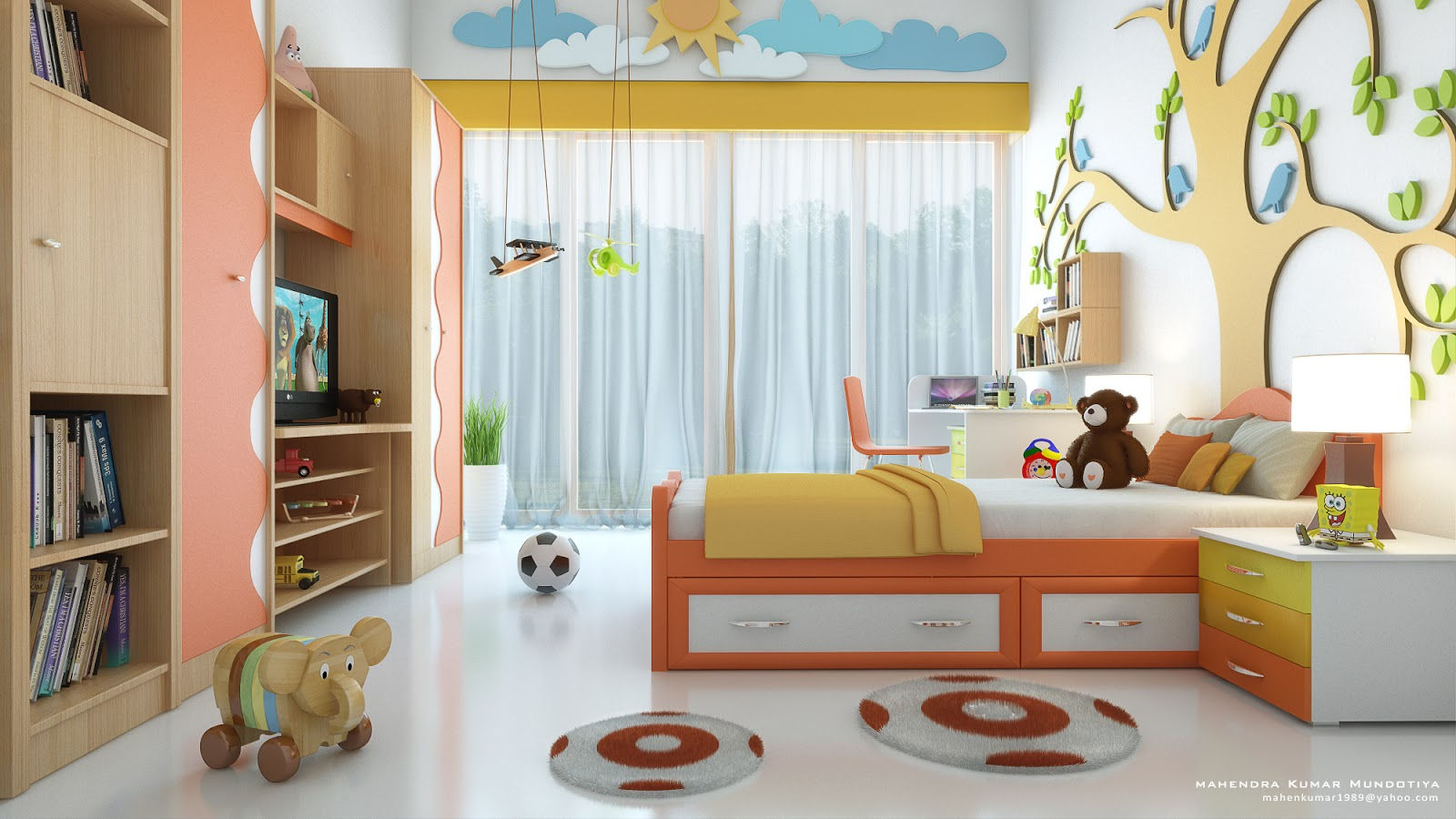 Mahen thinks kid 39 s room for Rooms 4 kids