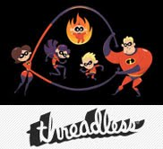 Threadless Tee: The Incredibles