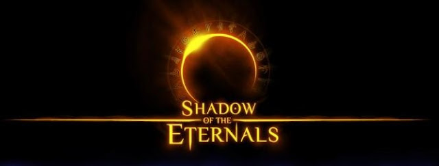 Logo for video game Shadow of the Eternals