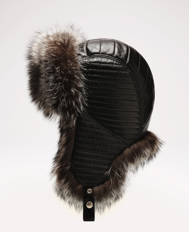 BALLY SWITZERLAND FUR CHAPKA FALL 2013