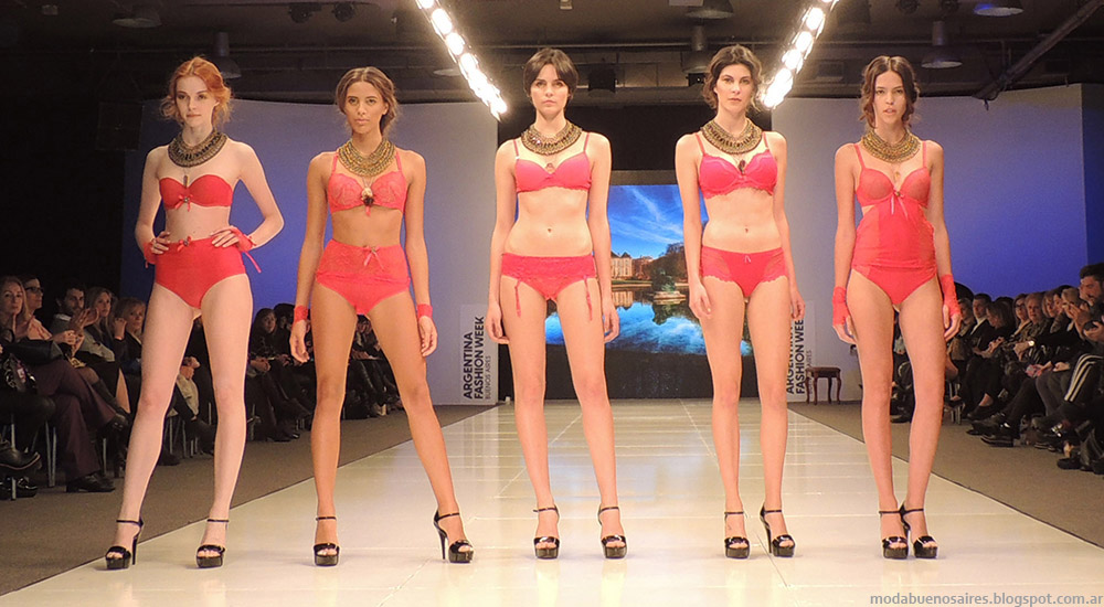 Ara Intimates by Araceli Gonzalez Desfile Argentina Fashion Week primavera verano 2015.