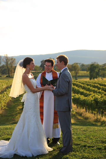 Breaux Winery Wedding Ceremony Photo| Whysall Photography