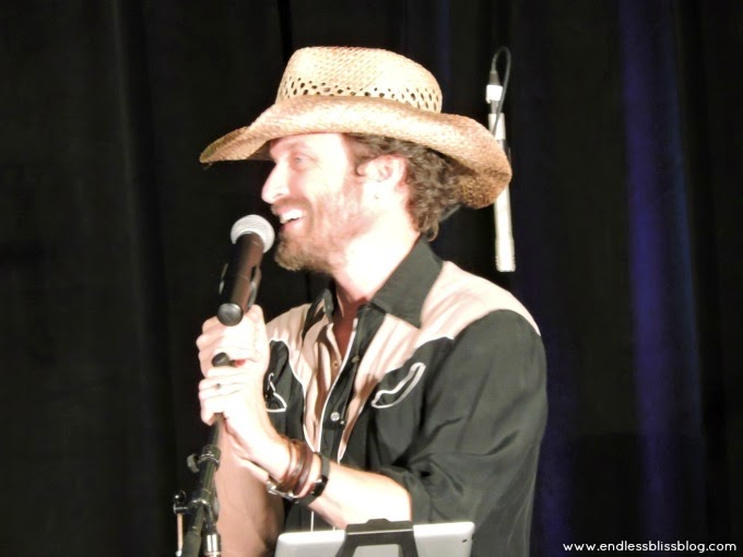 rob benedict at supernatural con in houston, texas