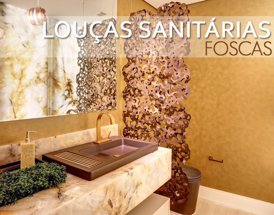 Louças sanitárias foscas em banheiros e lavabos – veja cubas e vasos com essa -> Decoracao Banheiro Vaso Sanitario Preto