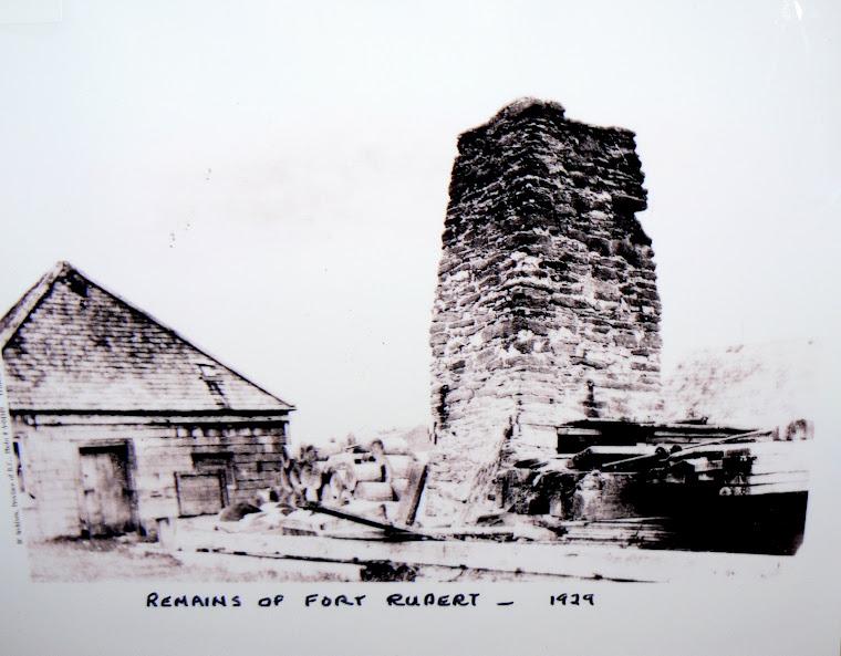 FORT RUPERT HUDSON'S BAY POST CIRCA 1929