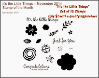 November Stamp of the Month - It's the Little Things