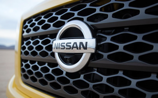 Nissan Titan grille badge