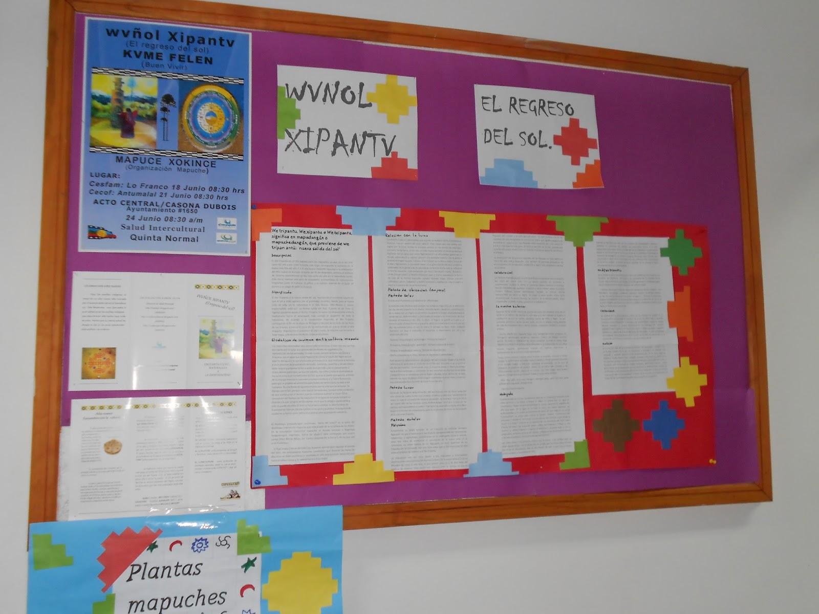 Centro de salud familiar gar n for Diario mural fiestas patrias chile