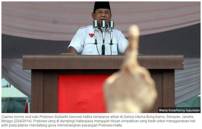 Prabowo Berorasi