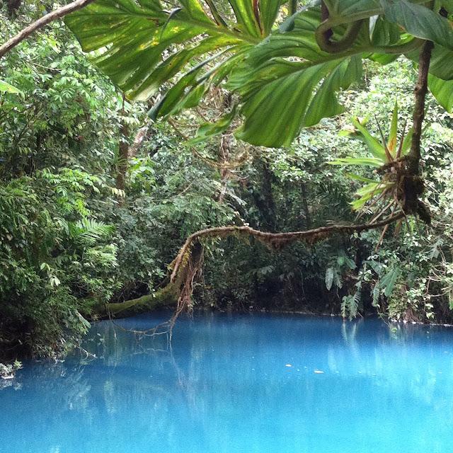 Rio Celeste das blaue Wunder Costa Rica`s