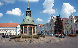 Market place in Wismar