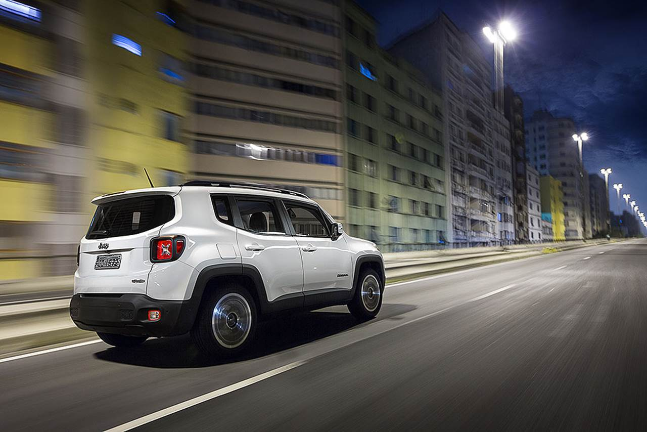Jeep Renegade Longitude Flex Completo - Branco
