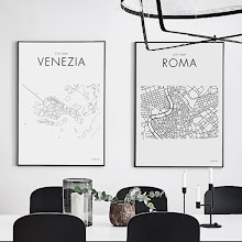 City Map - Art Print