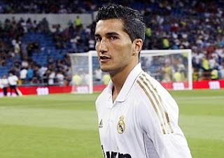 Nuri Sahin con la camiseta del Real Madrid
