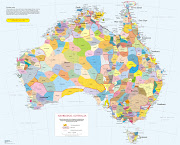 This map of Australia outlines the various aboriginal language groups before .