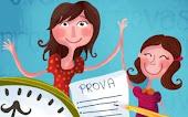 Ajude seu filho estudar para a prova!