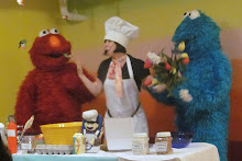 Cooking with Cookie and Elmo!