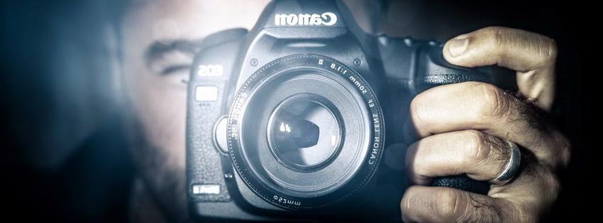 Jolie couverture facebook miroir photographie