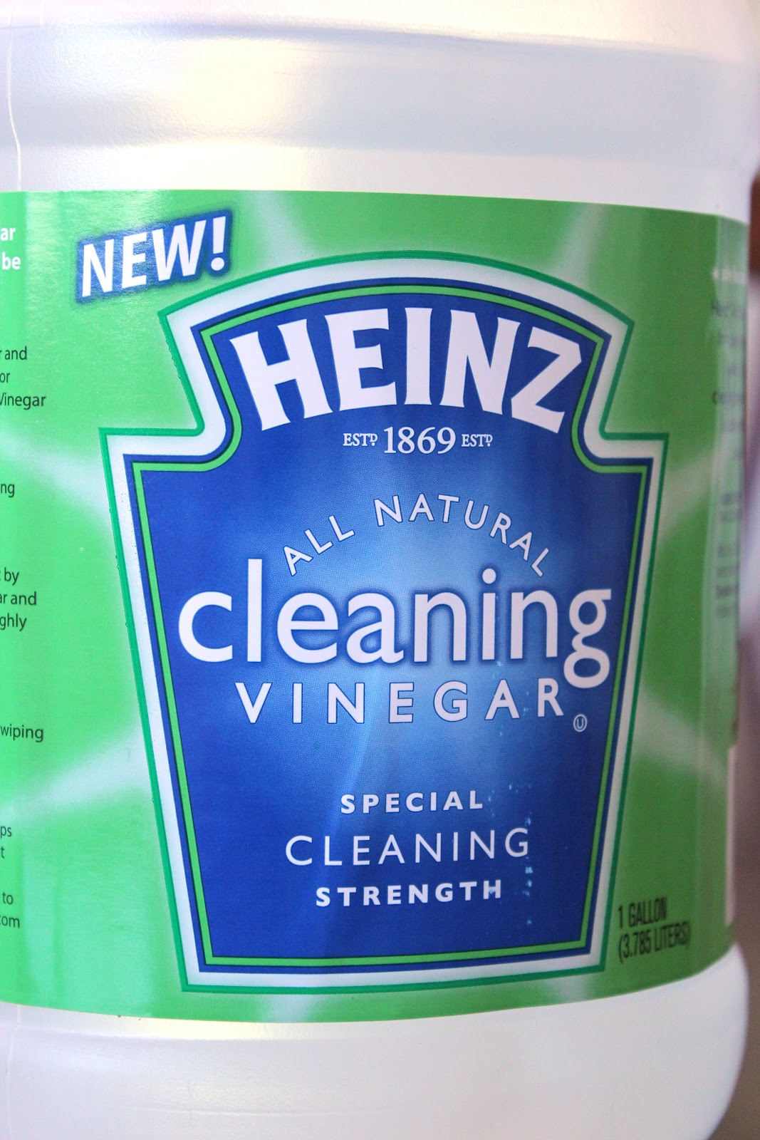 how to clean greens with vinegar