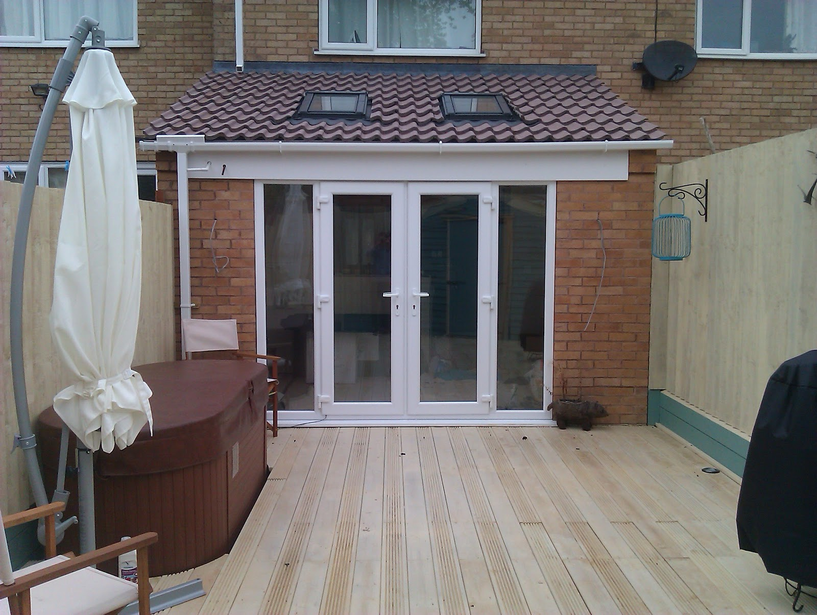 Ryan martin carpentry creating an extension in a small area - Small house extensions ideas ...
