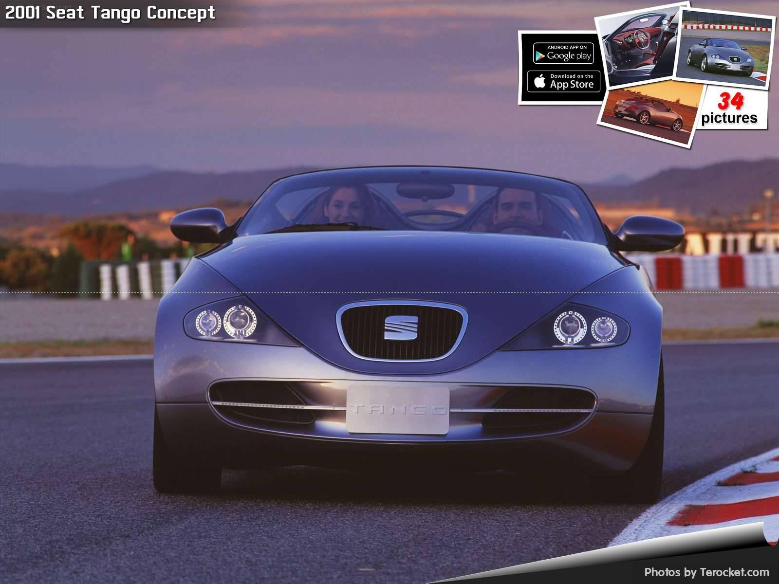 Hình ảnh xe ô tô Seat Tango Concept 2001 & nội ngoại thất